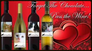 TLC wine V-Day