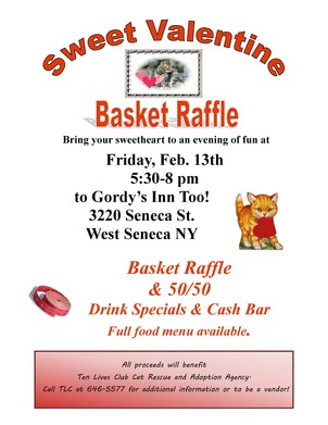Sweet Valentine Basket Raffle 3